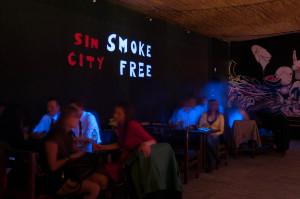 Free smoke party Ostravské univerzity
